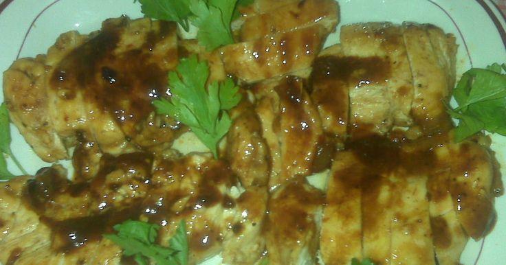 Fabulosa receta para Pechugas en salsa de tamarindo . Estas deliciosas pechugas son un agasajo al paladar, fáciles de preparar y sencillamente deliciosas.