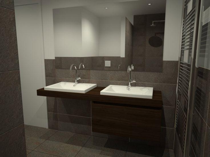 20 beste idee n over kleine badkamers op pinterest for Badkamer zelf ontwerpen