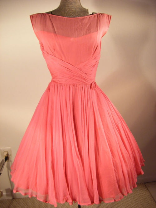 bridesmaid dress?: Coral Bridesmaid, Banquet Dresses, Coral Colored Dresses, Fashion Accessories, The Dresses, Cute Bridesmaid Dresses, Coral Dresses, Coral Color Dresses, Cute Parties Dresses