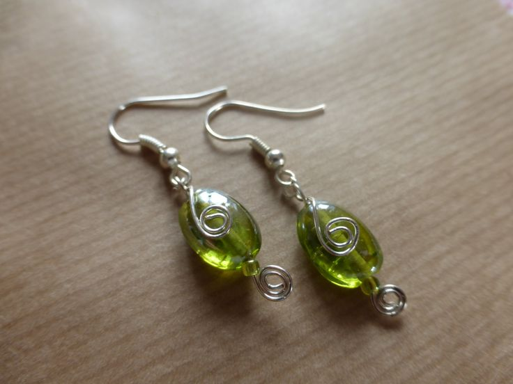 Silver Spiral Earrings by TheCatAndTheClasp on Etsy