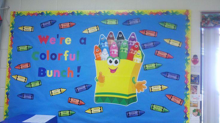 fall bulletin board ideas for preschool | Bunches of Bulletin Boards