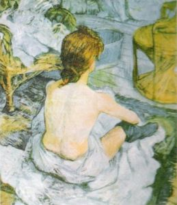 The Toilet by Henri de Toulouse-Lautrec