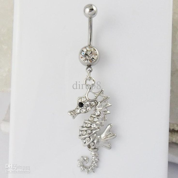 i love seahorses and seahorse things... like towels...and belly button rings. seahorses. fuheva.