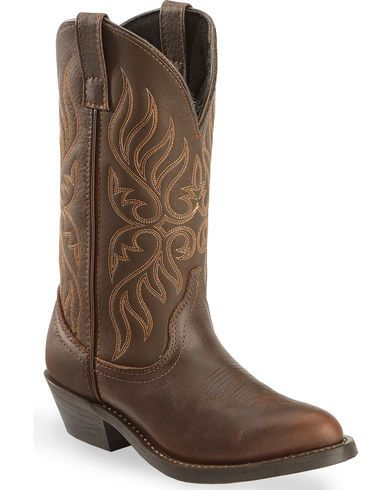 Laredo Copper Kettle Cowgirl Boots - Round Toe - Country Outfitter
