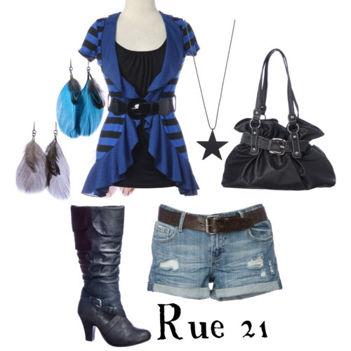 My rue 21 outfit set.