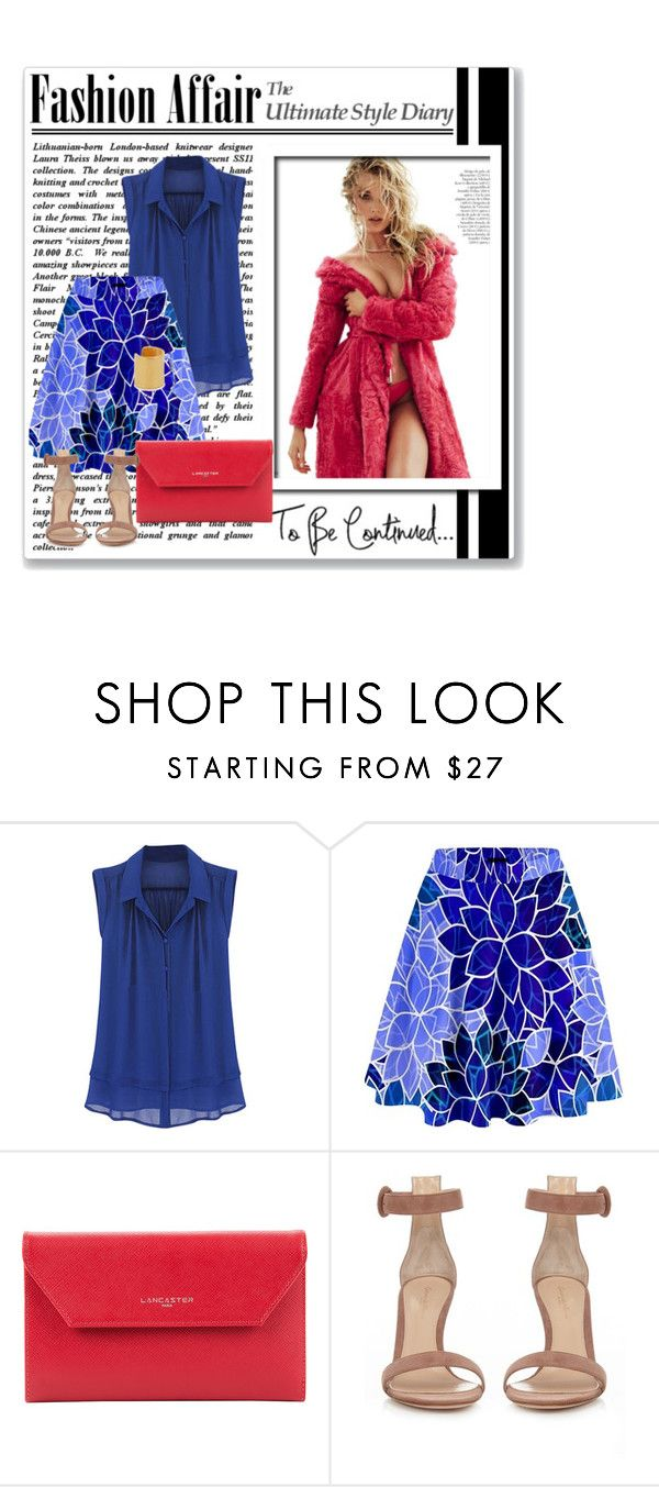 """""""Senza titolo #4239"""" by ladyhysteria ❤ liked on Polyvore featuring Lancaster, Gianvito Rossi and Maya Magal"""