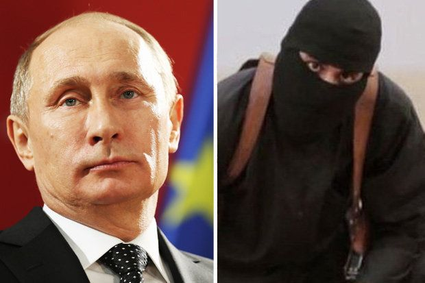 Putin makes Brit ISIS beheader Jihadi John his NUMBER ONE target | Latest News | Breaking UK News & World News Headlines | Daily Star