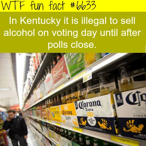 Election day - WTF fun facts                                                                                                                                                                                 More