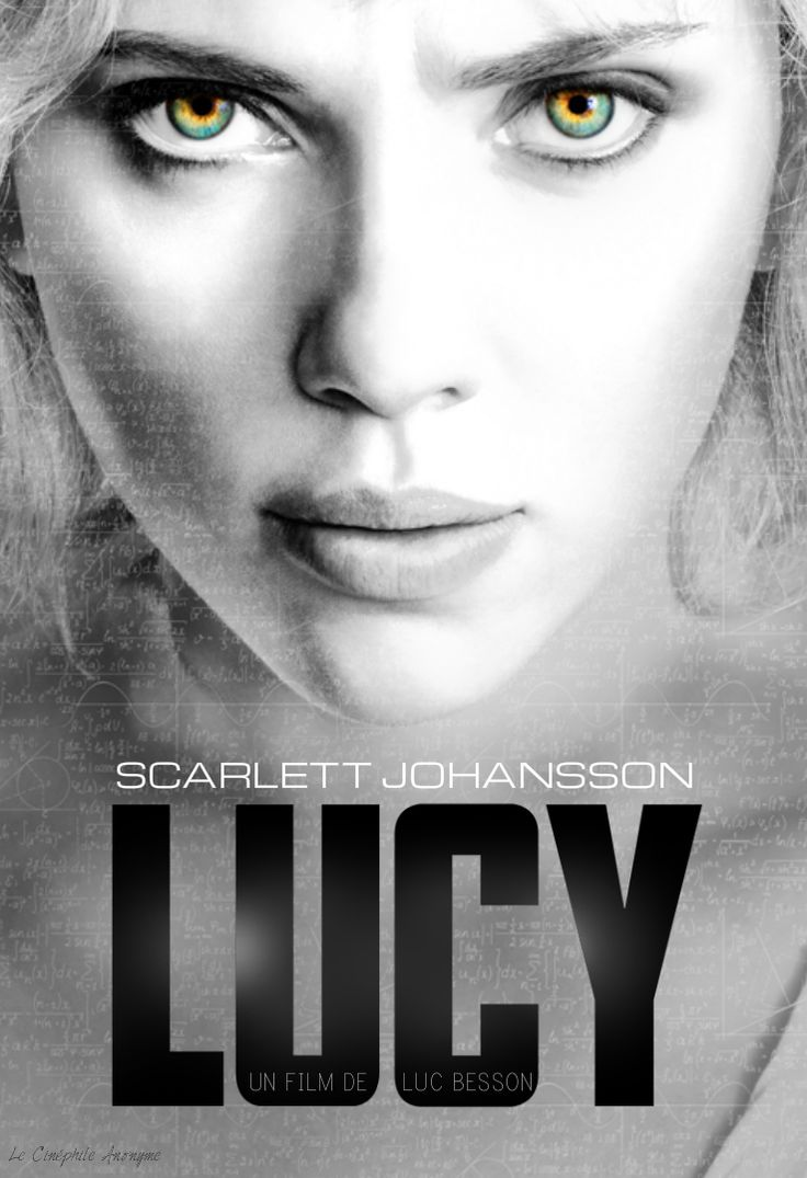 Scarlett Johansson Lucy. Probably one of my favorite movies now. Certainly bypassed my high expectations