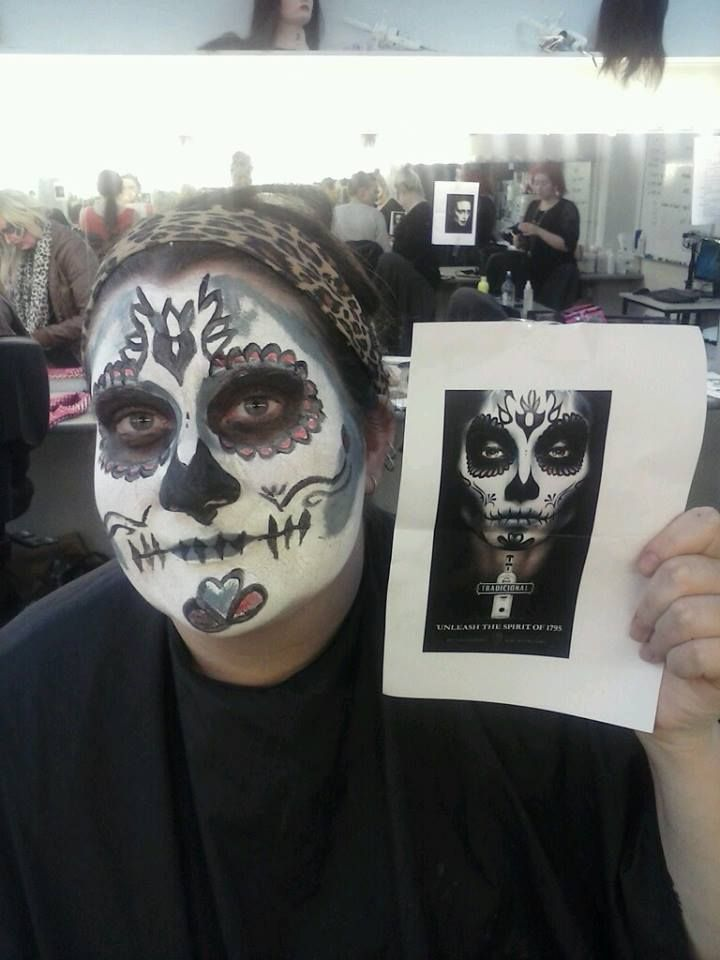 #DayOfTheDead FirstTry. TiaRose