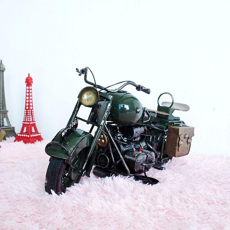 Ретро железный Мотоциклов модель limited edition Для Harley Мотокросс послал ее бойфренд подарок на день рождения бар Украшения