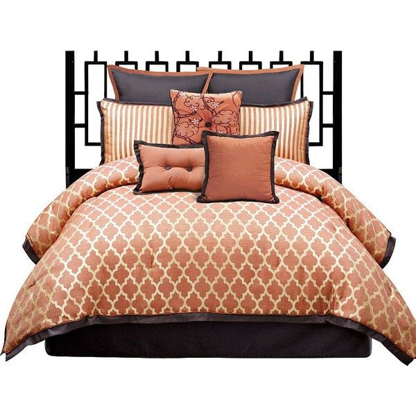 angelo:HOME Westgate 8-Piece Queen Bedding Set found on Polyvore