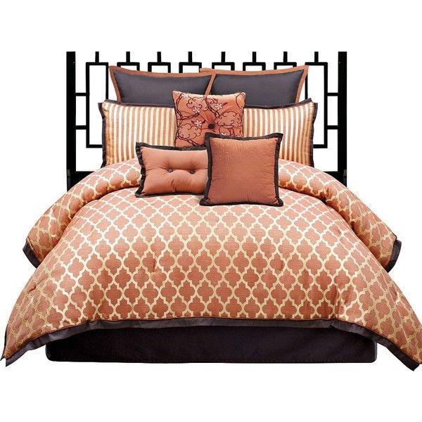angelo:HOME Westgate 8-Piece Queen Bedding Set found on Polyvore