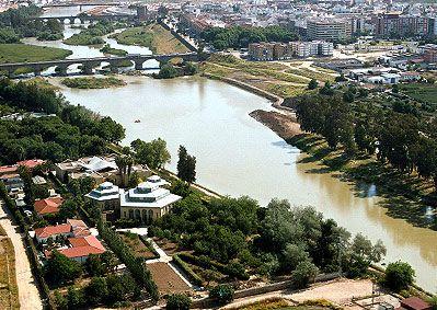 Jardín Botánico. Vista aérea