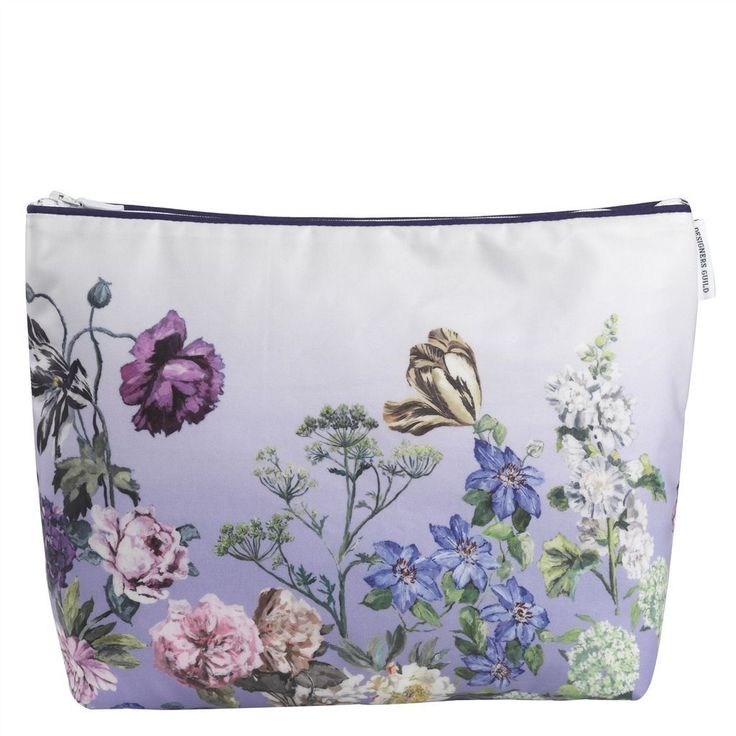 Designers Guild Alexandria Lilac Large Toiletry Bag