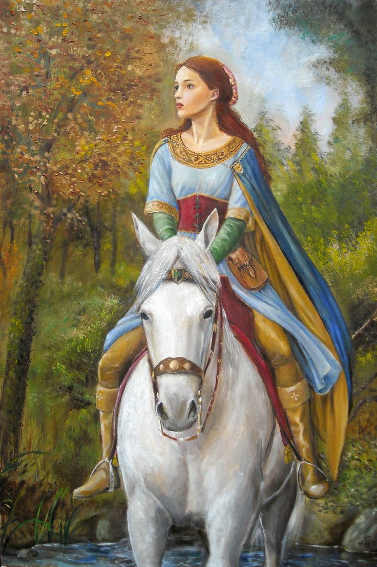 This is just beautiful. :)   Marian by dashinvaine.deviantart.com on @deviantART