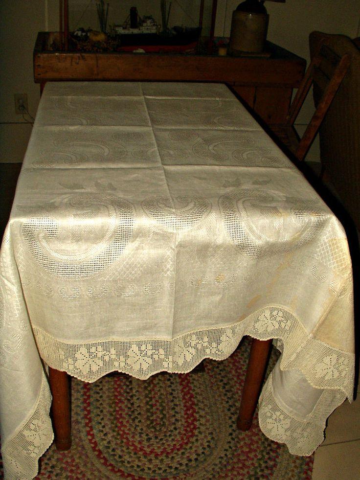 229 Best Table Linens Antique Victorian To Vintage 1950 S