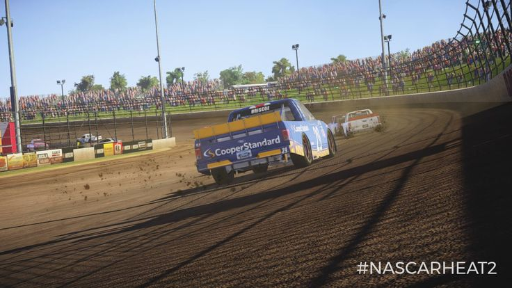 NASCAR Heat 2 will include dirt racing. View new screenshots here https://racingnews.co/2017/06/12/nascar-heat-2-dirt-racing/ #eldoraspeedway