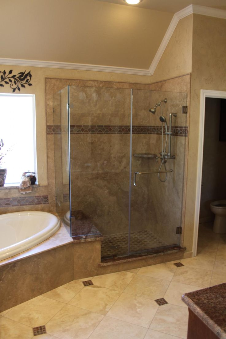 Natural Stone In The Shower Simply Showers Pinterest