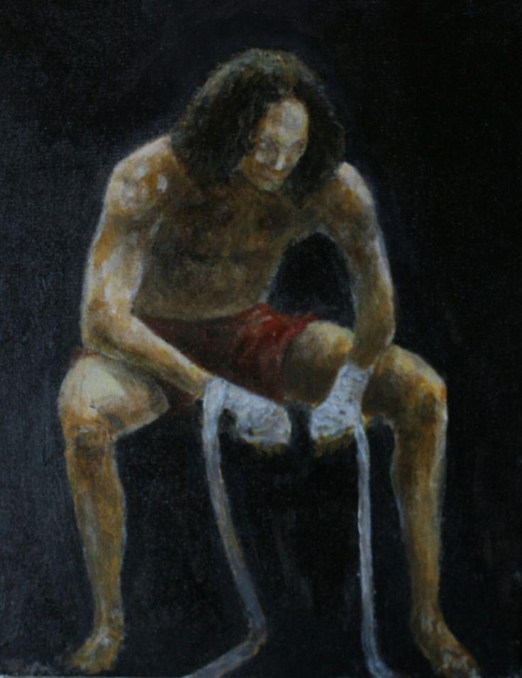 François Bélair  Acrylique  12x10