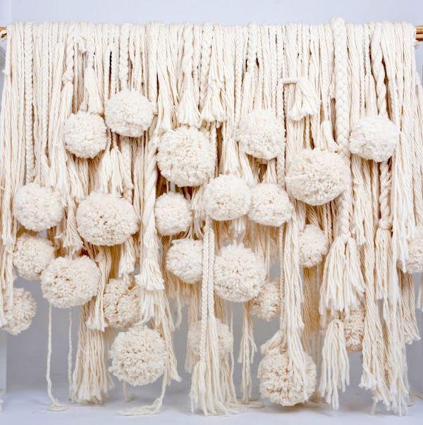 love the hanging tassels and pompoms  ~intelligentclashing