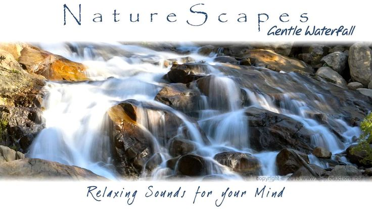 Beautiful Waterfall Sounds - 8 Hours of Relaxing Ambient SoundScape for ...