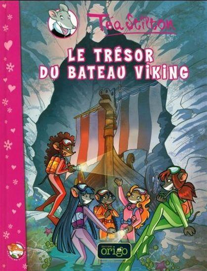 Alors que les étudiants de Raxford tentent de renflouer un ancien vaisseau viking coulé au large de l'île, quelqu'un veut voler le trésor qui, selon la légende, est caché dans le bateau. Les Téa Sisters réussiront-elles à empêcher le vol ?