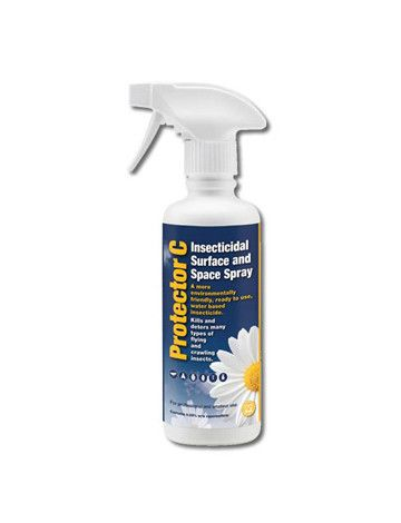 The Protector Natural Insect Killer (350ml) is a ready to use liquid spray insecticide with rapid knockdown specifically formulated to kill crawling and flying insects.