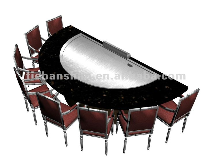 Restaurant Equipment Gas/electric Teppanyaki Table/hibachi Grill Photo,  Detailed About Restaurant Equipment Gas/electric Teppanyaki Table/hi.