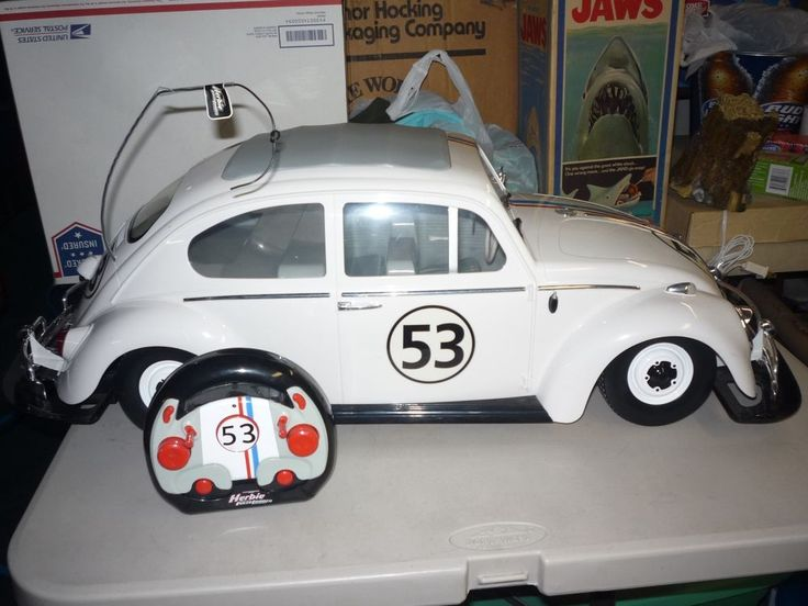 Herbie The Love Bug Fully Loaded 1:6 Scale RC Radio Control VW Beetle #PlanetToys