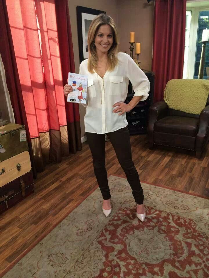 Love Candace Cameron Bure!  And her style!
