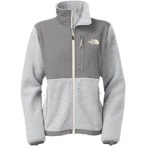 The North Face Denali Fleece Jacket ($98) ❤ liked on Polyvore featuring outerwear, jackets, tops, the north face jackets, the north face, fleece jacket and evening jackets