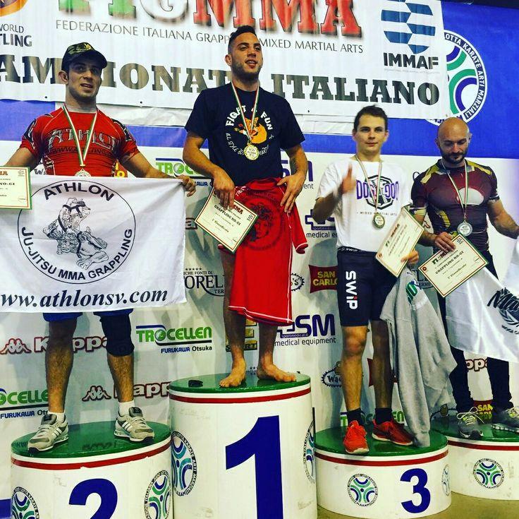 Campione italiano grappling serie A cat -71kg - Marco Anastasia