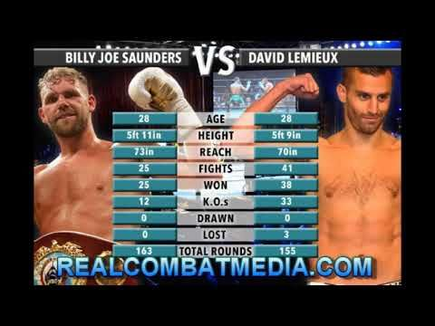 SAUNDERS VS. LEMIEUX MEDIA WORKOUTS QUOTES, MEDIA CALL AND PHOTOS - SAUNDERS WILLING TO BET PURSE | REAL COMBAT MEDIA