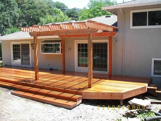 17 best images about redwood project inspiration on for Redwood deck plans