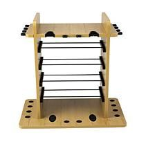 14 Fishing Rod Storage Wire Racking System with Dual Rod Clips