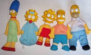burger king 1990 the simpsons toys