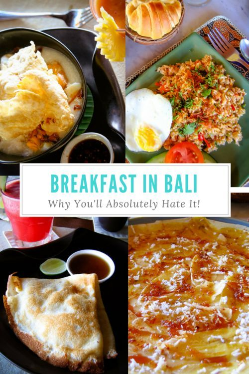 Why do we ignore the most important meal of the day by chowing down on carb-laden, sugary foods that are no good for us, when we could incorporate some delicious comfort food and dream we're in Bali? Breakfast in Bali is so unusually good, I guarantee you'll be making fried rice for breakfast more often. 4 delicious Balinese breakfast dishes you'll love! | What to do in Bali, What to See in Bali, Best Places to Stay in Bali, Where to Stay in Ubud