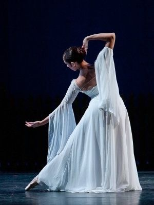 Ballerina, so much work put in to achieve that simple elegance