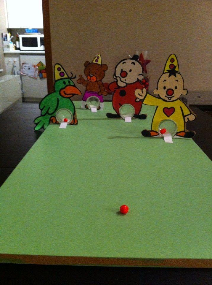Begeleide of zelfstandige activiteit - Knikkerspel