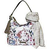Borsetta donna Signare alla moda in tessuto stile arazzo a spalla borsa a corpo Papavero: Amazon.it: Scarpe e borse
