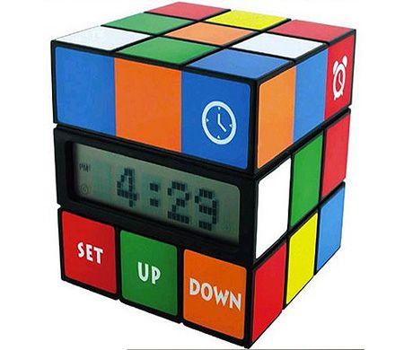Rubik's Cube Clock