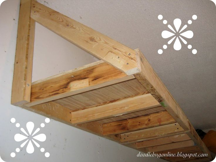 Building garage shelves with 2x4 woodworking projects for 2x4 cabinet plans