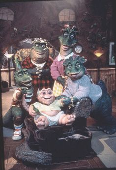 Dinosaurs tv show... my kids loved this show, I kinda liked it too, it was fun