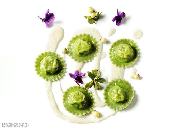 green ravioli combining innovation and tradition