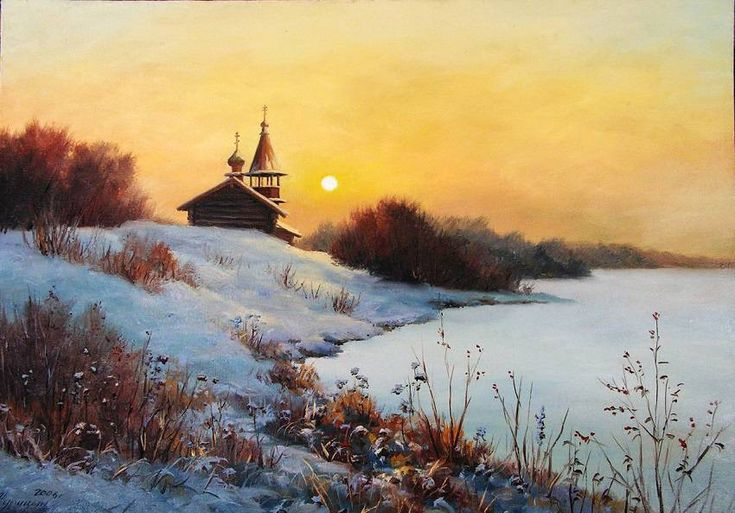 Чародейкою Зимою Околдован, лес стоит... Зимние пейзажи Сергея Курицына