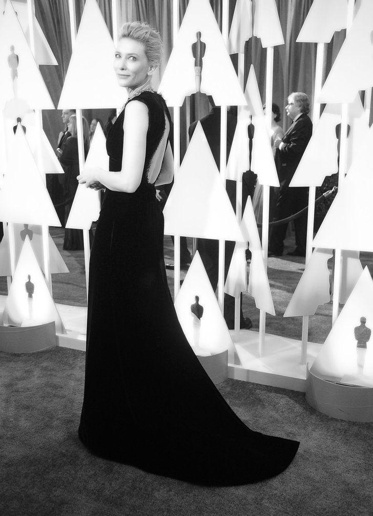 Pin for Later: Stunning Oscars Pictures You Haven't Seen Yet Cate Blanchett
