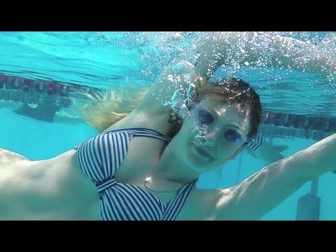 Sony Xperia Z waterproof phone underwater at North Sydney Swimming Pool. Video recorded on the 13MP video camera.