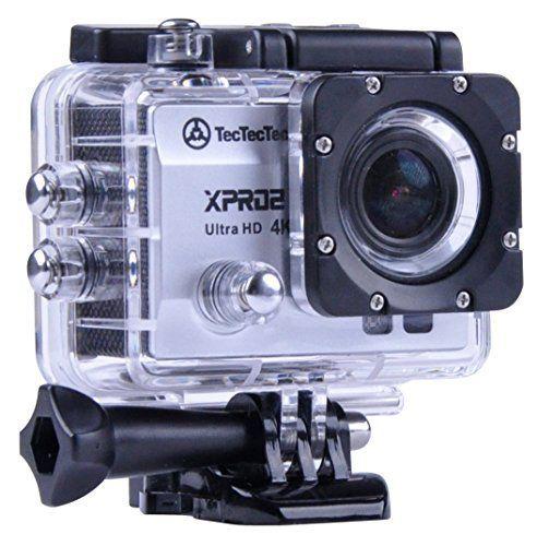 TecTecTec Caméra Sport XPRO2 – Caméscope Wifi 4K Ultra HD étanche: NOUVEAUTE: Vous avez aimé la XPRO1? Vous allez adorer la XPRO2! Sortie…