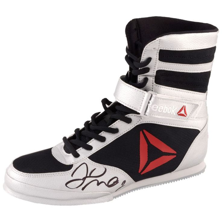 Floyd Mayweather Fanatics Authentic Autographed Reebok Boxing Shoe